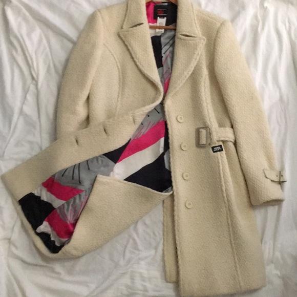 Miss Sixty Jackets & Blazers - Miss Sixty Luxury winter white coat